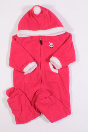CARTERS FLEECE THICK OUTFIT 9M EUC