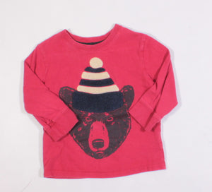 JOE FRESH BEAR LS TOP 3Y VGUC