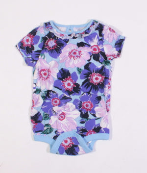 JOE FRESH FLORAL ONESIE 3-6M EUC