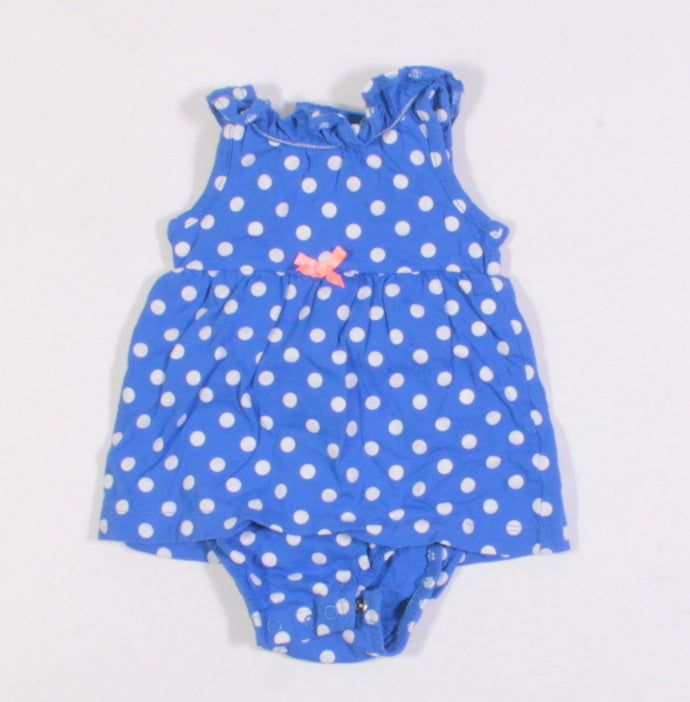1bc5500e4c50a Betty's Consignment · CARTERS ROMPER BLUE 3M EUC