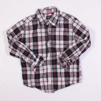 CARTERS PLAID LS TOP 5Y EUC