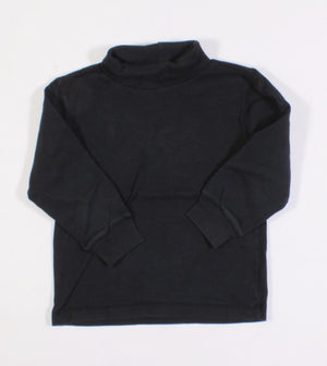 OSH KOSH BLACK TURTLENECK 4Y VGUC