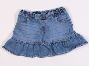 OSH KOSH SKIRT DENIM 5Y EUC