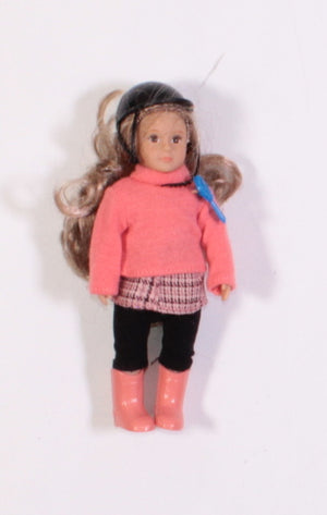 "LORI DOLL FOR 18"" DOLL EUC"