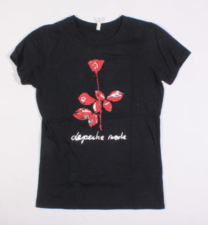 DEPECHE MODE TEE LADIES SMALL EUC