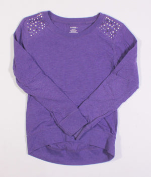 GEORGE PURPLE LS TOP 7-8Y EUC
