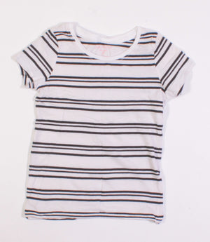 JOE FRESH STRIPED TEE 6-7Y EUC