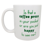 Load image into Gallery viewer, Peanut Parade, Edgy Humor Mugs 11oz