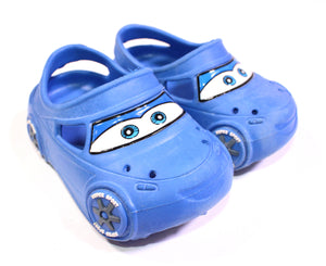CARS BLUE SLIP ONS SIZE 5 VGUC