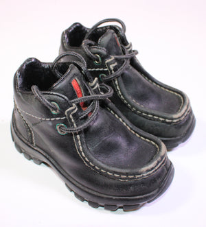 PERRY ELLIS BLACK BOOT SIZE APPROX 7 GUC/PC