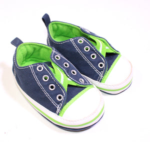 STEPPING STONES CRIB SNEAKERS 9-12M EUC