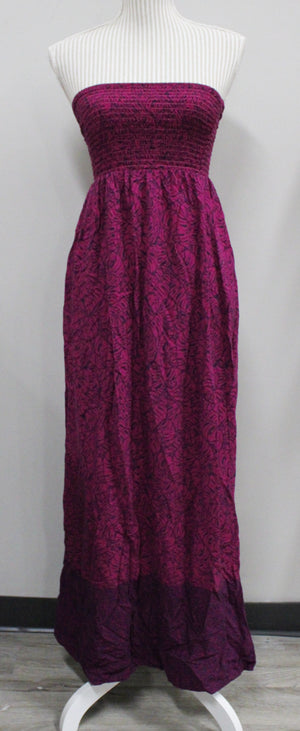 GEORGE PURPLE DRESS LADIES SMALL EUC