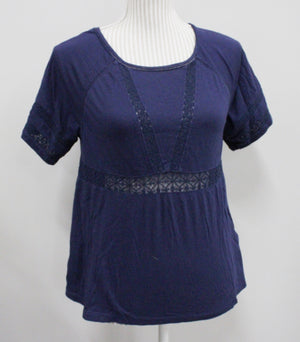 OLD NAVY BLUE TOP LADIES SMALL VGUC