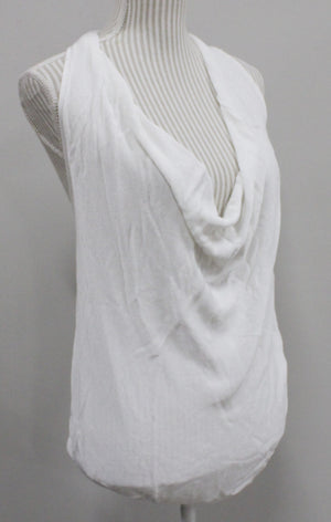 CLUB MONACO WHITE TOP LADIES SMALL EUC