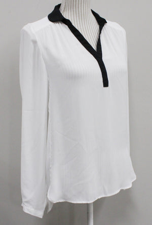 SMART SET WHITE BLOUSE LADIES SMALL VGUC/EUC