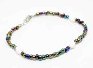 Nature's Living Edge Gems, Assorted Beaded Anklets