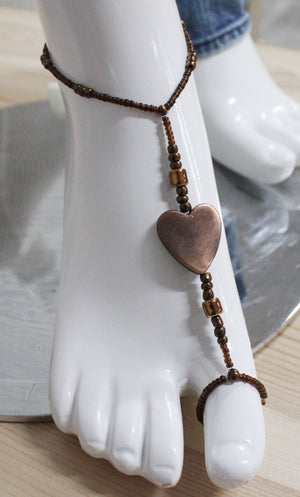 Nature's Living Edge Gems, Foot Bracelets