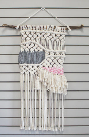Nature's Living Edge Gems, Macrame Wall Hangings