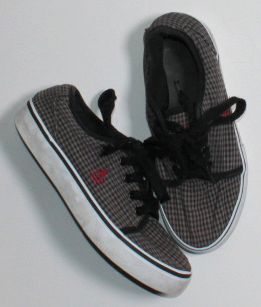 ORIGINAL PENGUIN GREY SHOES 2Y VGUC