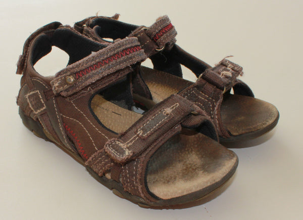STRIDE RITE LEATHER SANDALS SIZE 13M VGUC