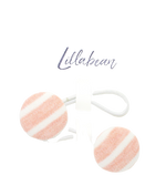 Load image into Gallery viewer, Lillabean, 2 Pack Button Hair Ties