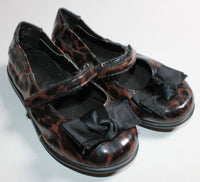 BASS ANIMAL PRINT SHOES SIZE 7 VGUC
