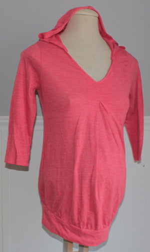 OLD NAVY PINK MATERNITY TOP XS