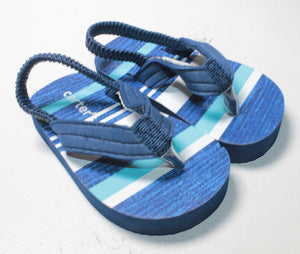 CARTERS BLUE SANDALS SIZE 1-2 INFANT EUC