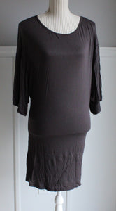 HKR GREY TSHIRT DRESS LADIES MED EUC