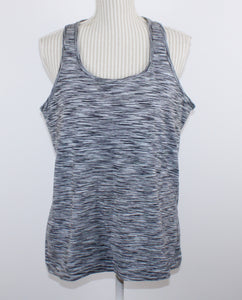 PERRY ELLIS BLACK/GREY PATTERNED SWEATER MENS SMALL VGUC