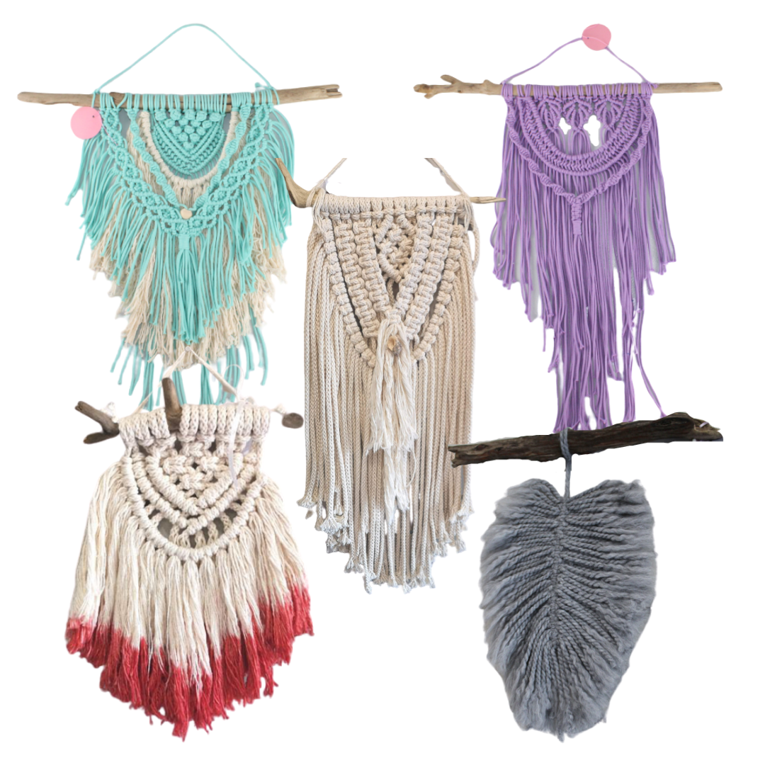 DKC Designs, Macrame Wall Hangings