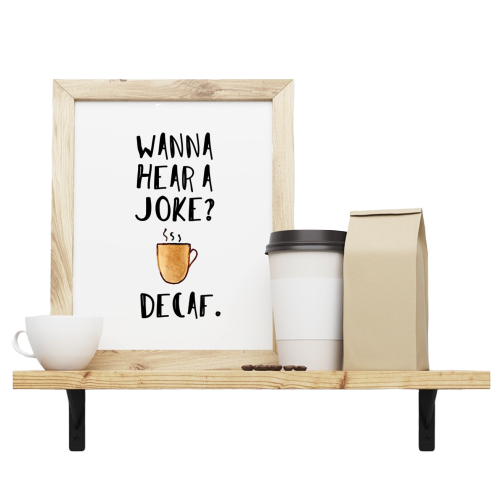 Mish Mash Boutique, Coffee Prints