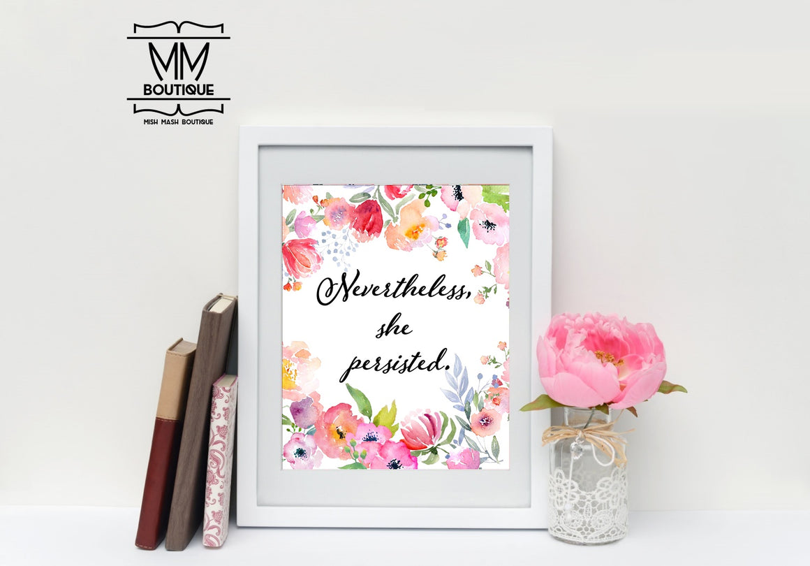 Mish Mash Boutique Holy Chic Collection- Nevertheless She Persisted