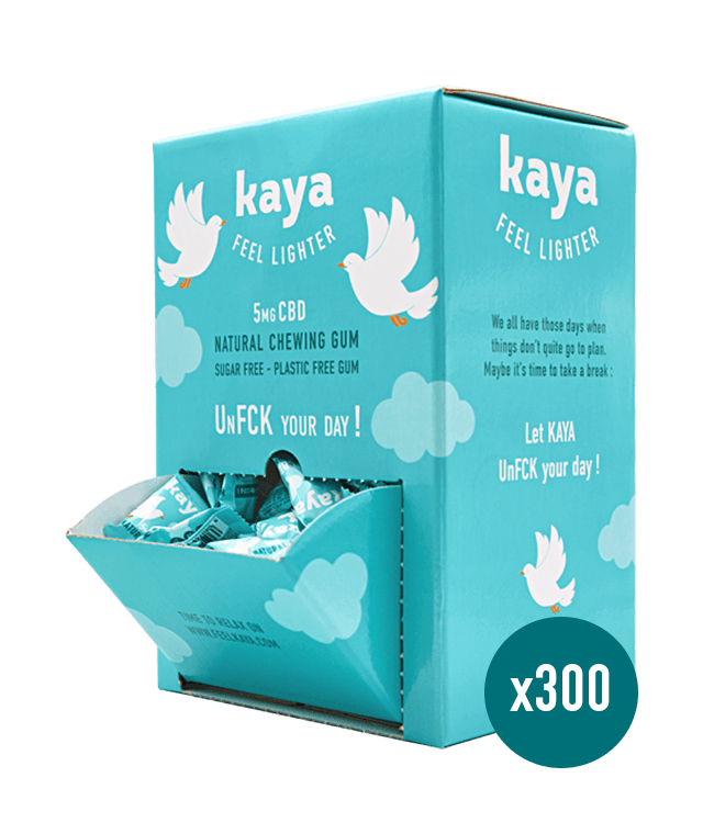Distributeur x 300 chewing-gums relaxants Chewing-gum Kaya