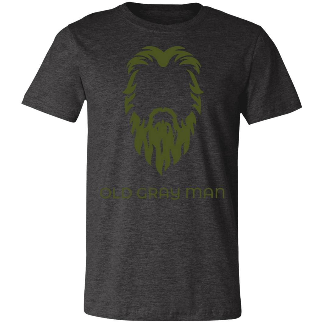 Old Gray Man Short-Sleeve T-Shirt