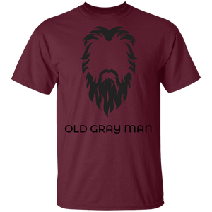 Old Gray Man Basic T-Shirt