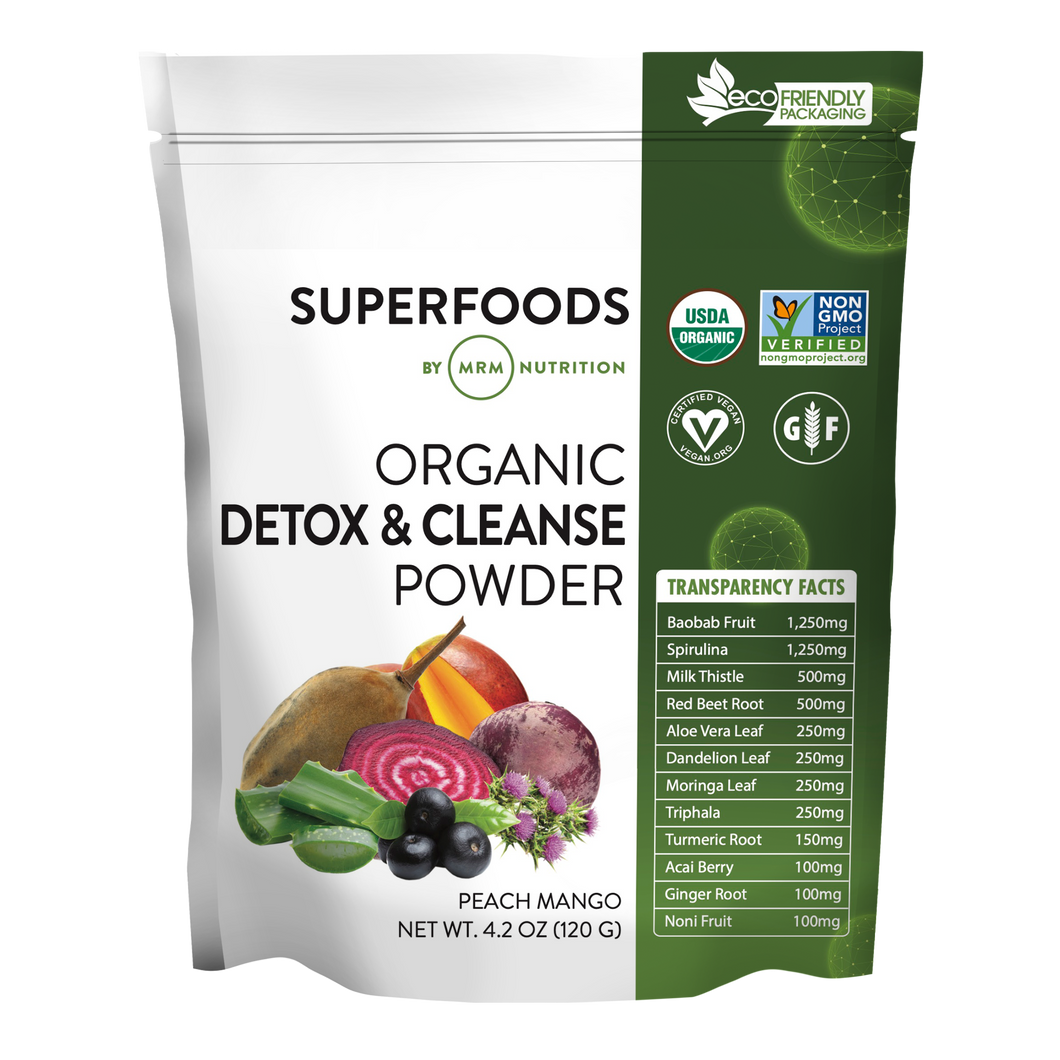 Superfoods - Organic Detox & Cleanse Powder