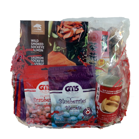 International Deluxe Party Basket
