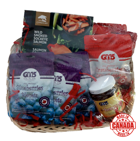 Canadian Snack Attack Basket
