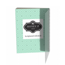 Load image into Gallery viewer, Notebook (Large) - Habakkuk 2:2 - Mint Green