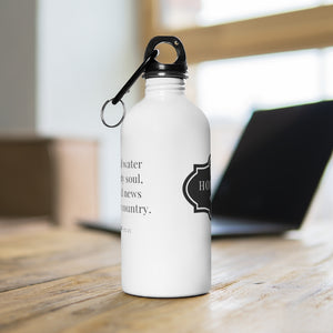 Stainless Steel Water Bottle - Proverbs 25:25
