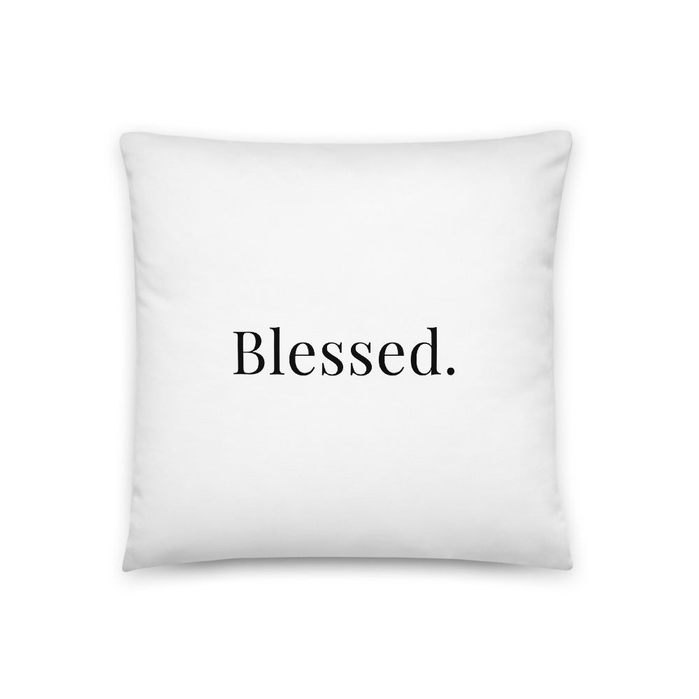 Pillow - Blessed - Proverbs 10:22