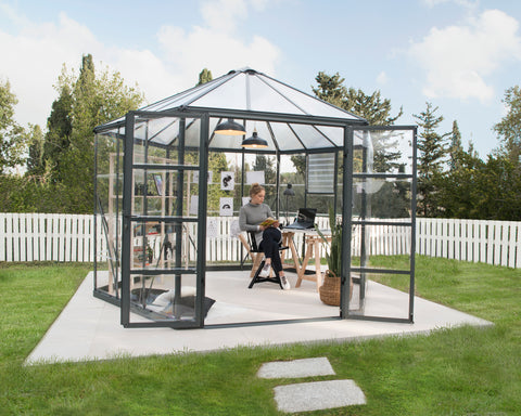 Oasis Hex Greenhouse 12ft HG6005