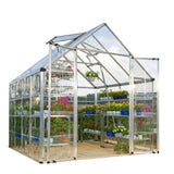 Snap & Grow 8 x 8 Greenhouse by Palram HG8008