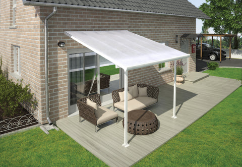 Feria 10 x 10 Patio Cover in White HG9310
