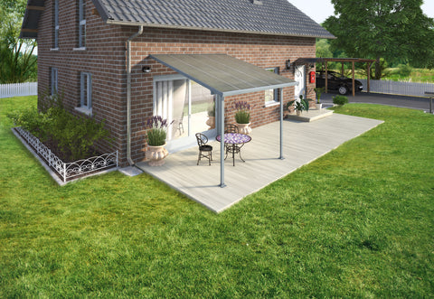 Feria 10 x 10 Patio Cover in Gray HG9410