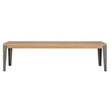 Industrial M Bench Seat - Graphite