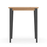 Industrial M Bar Table - Graphite