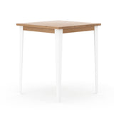 Industrial M Bar Table - White