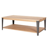Industrial M Coffee Table - Graphite
